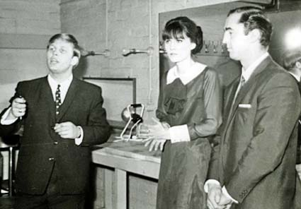 Vic and Bert meet Sandie Shaw