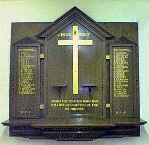St Gregory's Roll Of Honour