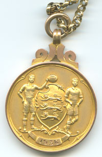 Banks FA Cup winners medal 1958 front