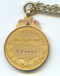Banks FA Cup Winners medal name