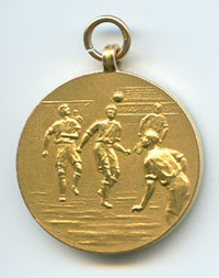 Hartle runners up medal 1953 back
