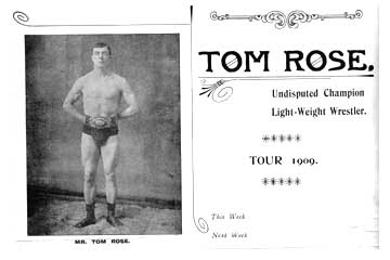 Wrestling Tom Rose