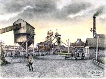 Brackley Colliery, Little Hulton